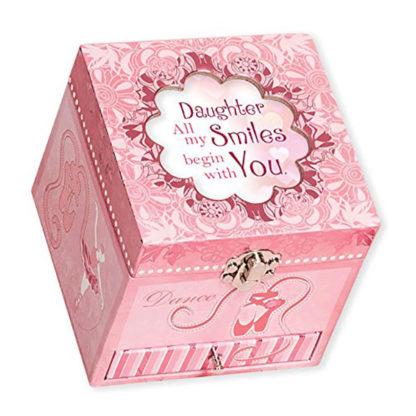 Cottage Garden Belle Papier Daughter Music Box