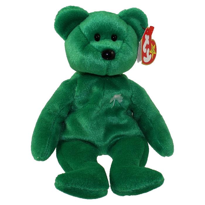 TY Beanie Baby - Erin the Irish Bear