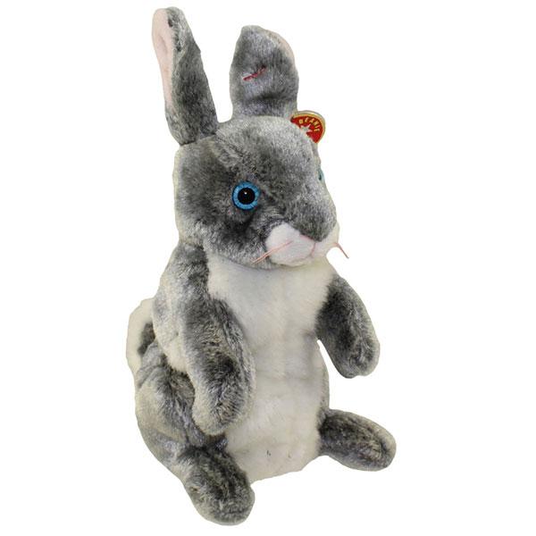 TY Beanie Baby - Hopper the Bunny (7 inch)