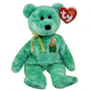 TY Beanie Baby - Killarney the Irish Bear (8.5 inch)