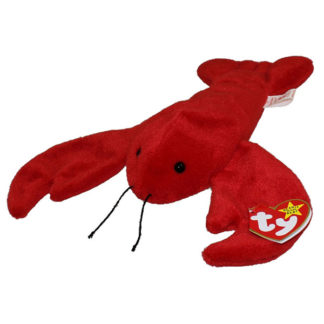 TY Beanie Baby - Pinchers the Lobster (8.5 inch)