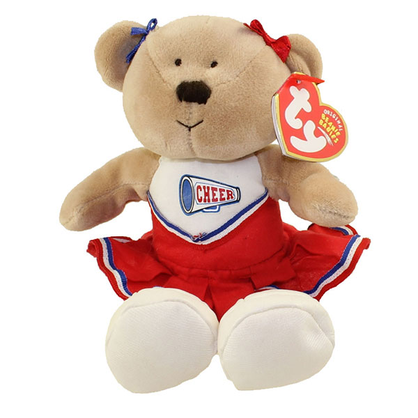 TY Beanie Baby - Pompoms the Cheerleader Bear (9 Inch)