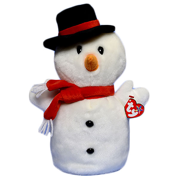 TY Beanie Buddy - Snowball the Snowman (11 inch)
