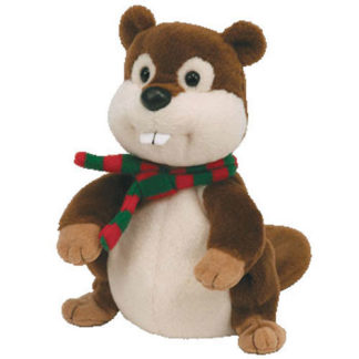 TY Beanie Baby 2.0 - Yule the Beaver (6 inch)
