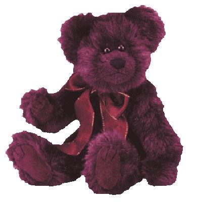 TY Attic Treasure - Beargundy the Bear (8 inch)