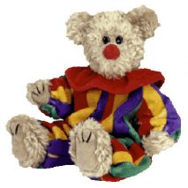 TY Attic Treasure - Piccadilly the Clown Bear