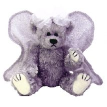 TY Attic Treasure - Sterling the Silver Angel Bear