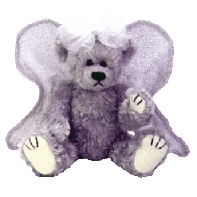 TY Attic Treasure - Sterling the Silver Angel Bear