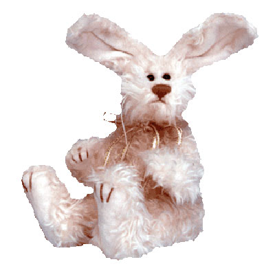 TY Attic Treasure - Blush the Pink Bunny (10 Inch)