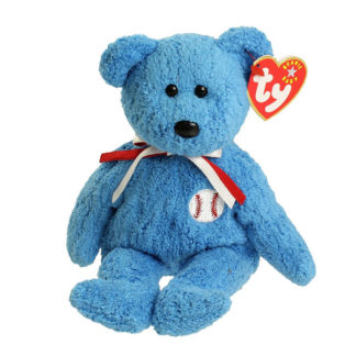 TY Beanie Baby - Addison the Baseball Bear (8.5 inch)