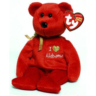 TY Beanie Baby - Alabama the Bear (8.5 inch)