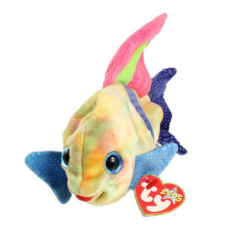 TY Beanie Baby - Aruba the Angel Fish (7 inch)