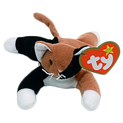 TY Teenie Beanie Baby - Chip the Calico Cat