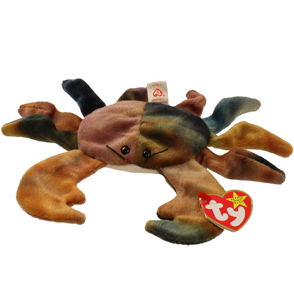 TY Beanie Baby - Claude the Crab (7.5 inch)