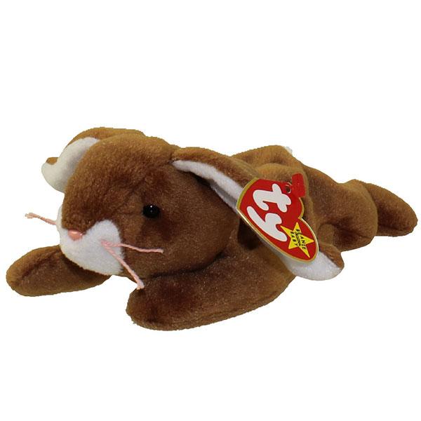 TY Beanie Baby - Ears the Rabbit (8.5 inch)