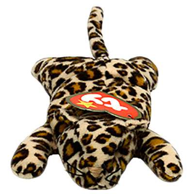 TY Teenie Beanie Baby - Freckles the Leopard