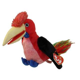 TY Beanie Baby - Frills the Hornbill Bird (6 inch)