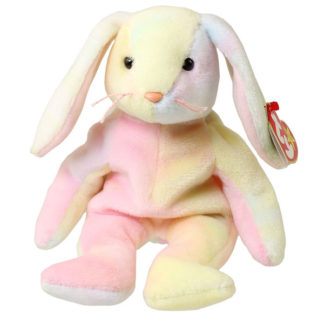 TY Beanie Baby - Hippie the Tie-Dyed Bunny (8.5 inch)