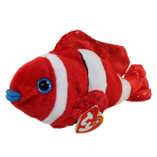 TY Beanie Baby - Jester the Clown Fish (8 inch)