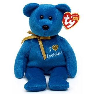 TY Beanie Baby - Louisiana the Bear (8.5 inch)