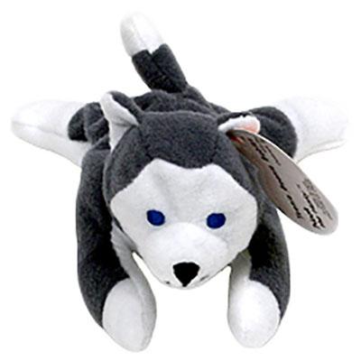 TY Teenie Beanie Baby - Nook the Husky Dog