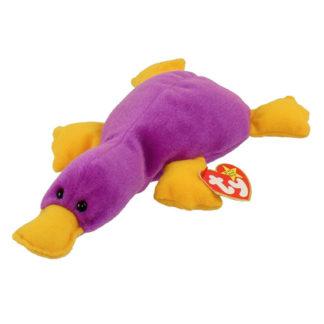 TY Beanie Baby - Patti the Platypus (9.5 inch)