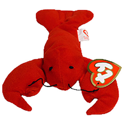 TY Teenie Beanie Baby - Pinchers the Lobster