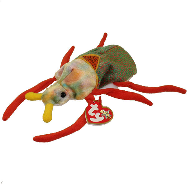 TY Beanie Baby - Scurry the Beetle (6.5 inch)