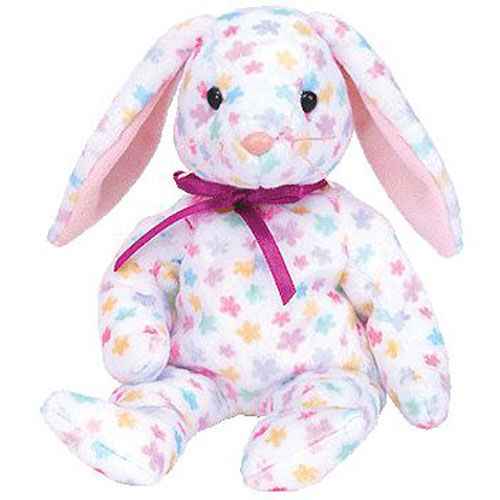 TY Beanie Baby - Springfield the Bunny (8.5 inch)