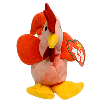 TY Teenie Beanie Baby - Strut the Rooster