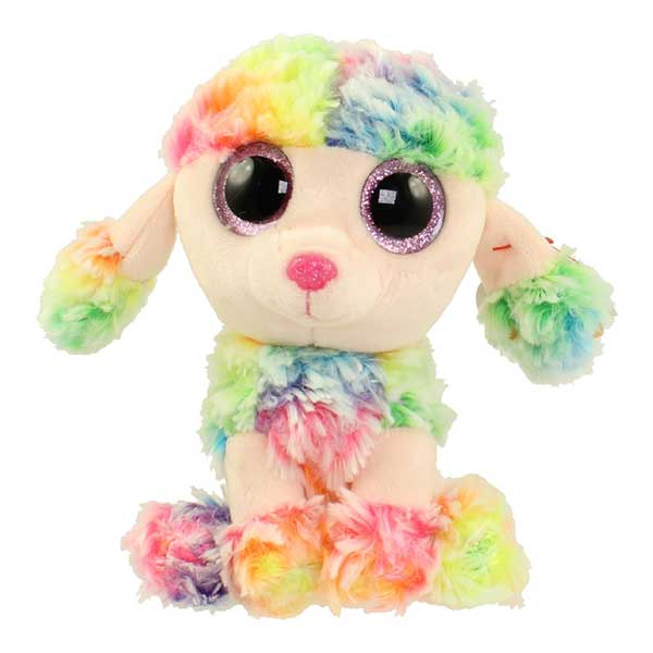 Ty Beanie Boos - Rainbow the Poodle (Regular Size)