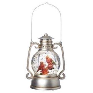 Lantern with Cardinal Water Globe