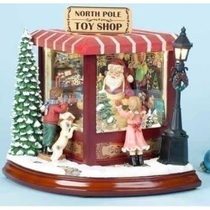 Santa's North Pole Music Box