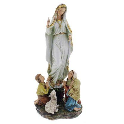 """12"""" Our Lady Of Fatima Figure"""