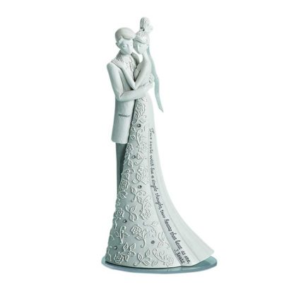 """Language of Love """"Forever"""" Cake Topper, 6.25-Inch"""