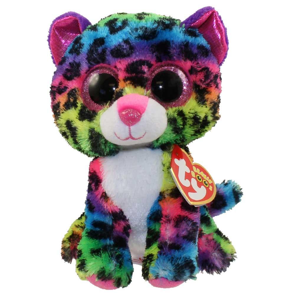 Ty Beanie Boos - Dotty the Rainbow Leopard