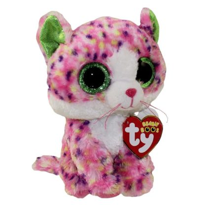 Ty Beanie Boos - Sophie the Multi-Color Cat