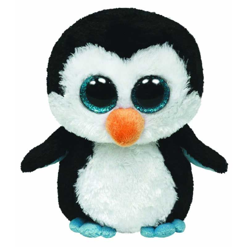 Ty Beanie Boos - Waddles the Penguin