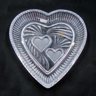 Sullivan's Lead Crystal Heart Dish