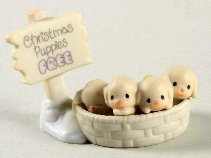 Precious Moments Free Christmas Puppies (Sugar Town) #528064