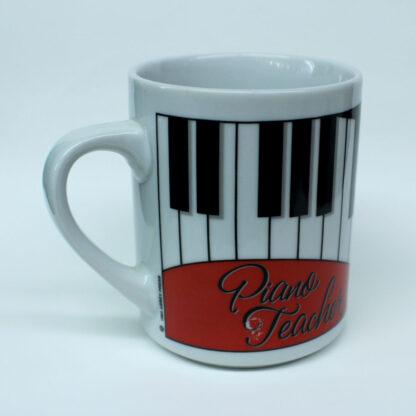 piano teacher mug