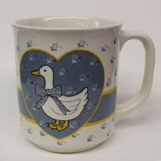 Stoneware Goose Mug
