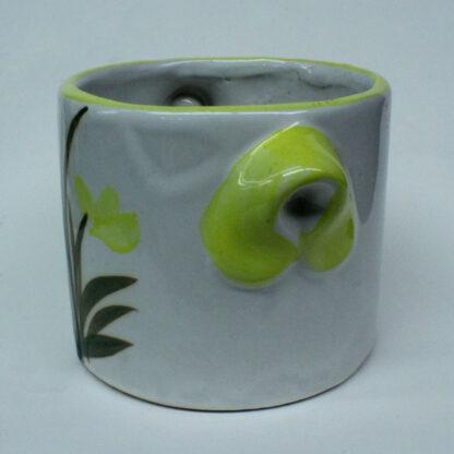 Yellow Tulip Mug Pot