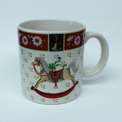 Mug, Christmas Toys scene. Charlton Hall TM by Kobe