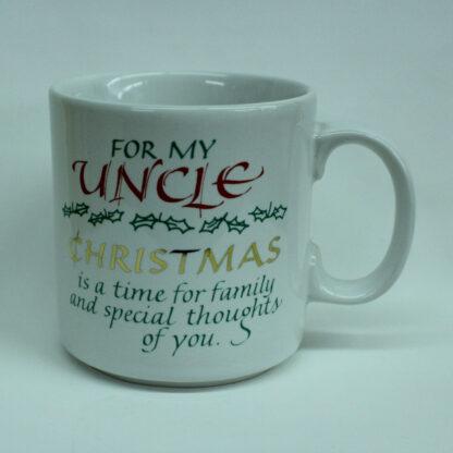Novelty Mug, Uncle, Christmas