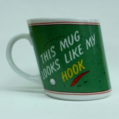 "Slanted Novelty Golf Mug ""This Mug Looks Like My Slice"""